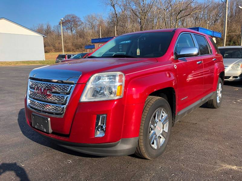 2013 gmc terrain sle 1 4dr suv in chillicothe oh instant auto sales. Black Bedroom Furniture Sets. Home Design Ideas
