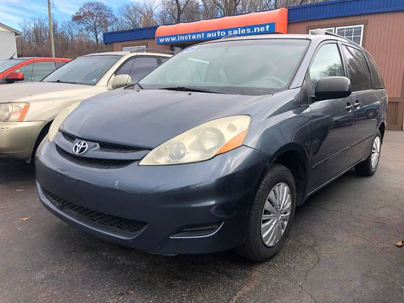2006 toyota sienna le 7 passenger 4dr mini van in chillicothe oh instant auto sales. Black Bedroom Furniture Sets. Home Design Ideas