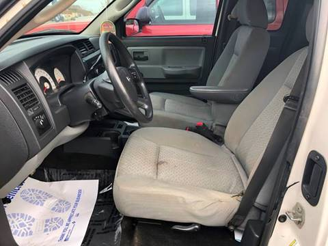 2008 dodge dakota st 4dr extended cab 4x4 sb in chillicothe oh instant auto sales. Black Bedroom Furniture Sets. Home Design Ideas