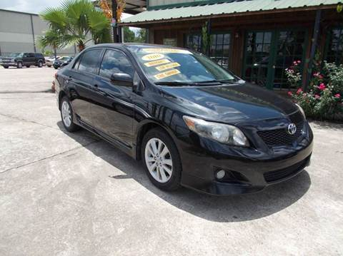 2010 Toyota Corolla for sale at MOTION TREND AUTO SALES in Tomball TX