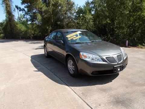 2006 Pontiac G6 for sale at MOTION TREND AUTO SALES in Tomball TX