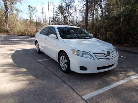 2010 Toyota Camry for sale at MOTION TREND AUTO SALES in Tomball TX