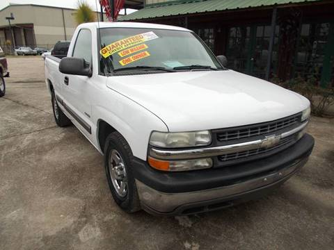 2001 Chevrolet Silverado 1500 for sale at MOTION TREND AUTO SALES in Tomball TX