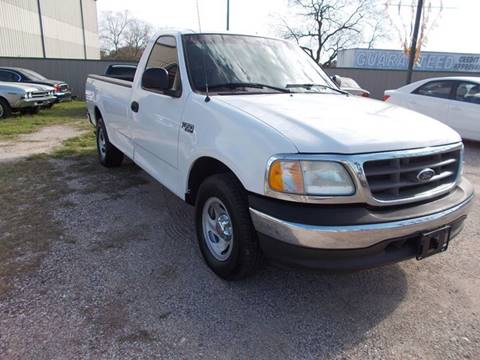 2003 Ford F-150 for sale at MOTION TREND AUTO SALES in Tomball TX