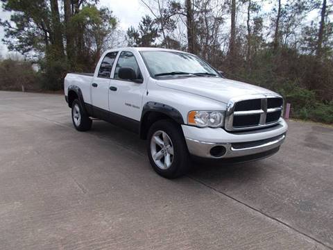 2004 Dodge Ram Pickup 1500 for sale at MOTION TREND AUTO SALES in Tomball TX