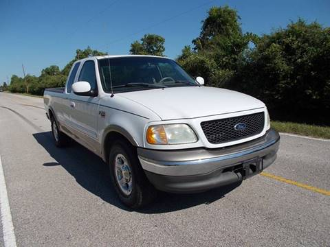 2002 Ford F-150 for sale at MOTION TREND AUTO SALES in Tomball TX
