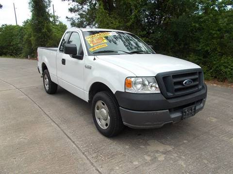 2005 Ford F-150 for sale at MOTION TREND AUTO SALES in Tomball TX