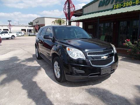 2011 Chevrolet Equinox for sale at MOTION TREND AUTO SALES in Tomball TX