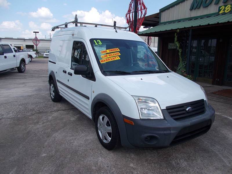2013 Ford Transit Connect for sale at MOTION TREND AUTO SALES in Tomball TX