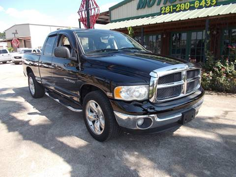 2003 Dodge Ram Pickup 1500 for sale at MOTION TREND AUTO SALES in Tomball TX