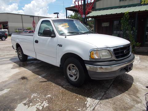 2001 Ford F-150 for sale at MOTION TREND AUTO SALES in Tomball TX