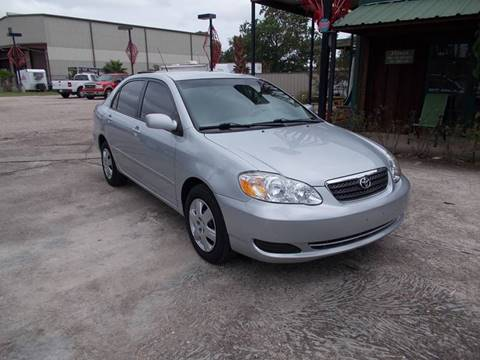 2008 Toyota Corolla for sale at MOTION TREND AUTO SALES in Tomball TX