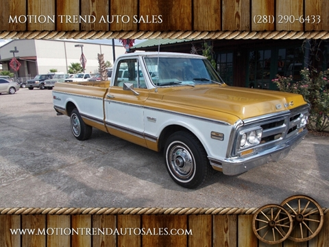 1972 GMC C/K 1500 Series for sale in Tomball, TX