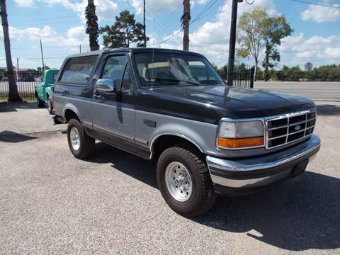 1995 Ford Bronco for sale in Tomball, TX
