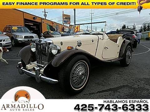 1951 MG ROADSTER for sale in Lynnwood, WA