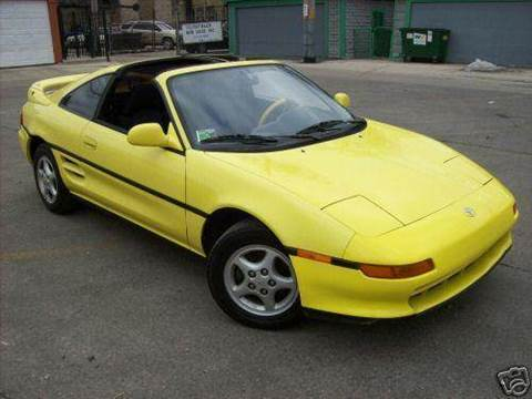 1991 Toyota MR2 for sale at OUTBACK AUTO SALES INC in Chicago IL