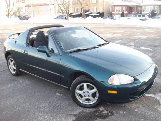 1997 Honda Civic del Sol for sale at OUTBACK AUTO SALES INC in Chicago IL