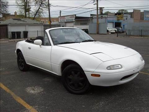 1992 Mazda MX-5 Miata for sale at OUTBACK AUTO SALES INC in Chicago IL