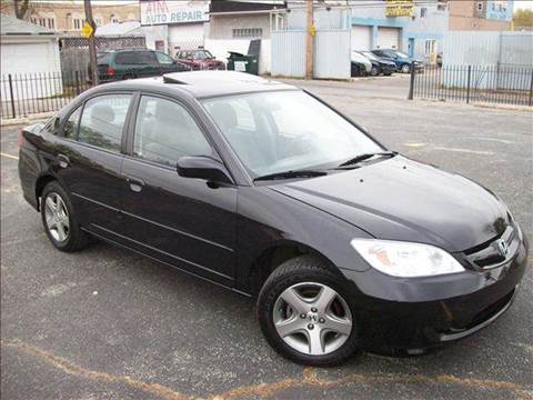 2004 Honda Civic for sale at OUTBACK AUTO SALES INC in Chicago IL