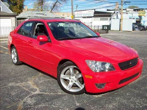 2004 Lexus IS 300 for sale at OUTBACK AUTO SALES INC in Chicago IL