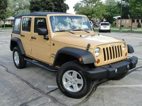 2013 Jeep Wrangler Unlimited for sale at OUTBACK AUTO SALES INC in Chicago IL