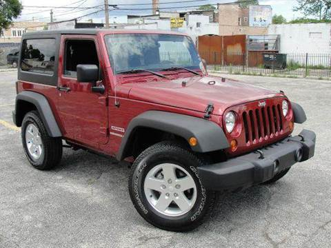 2012 Jeep Wrangler for sale at OUTBACK AUTO SALES INC in Chicago IL