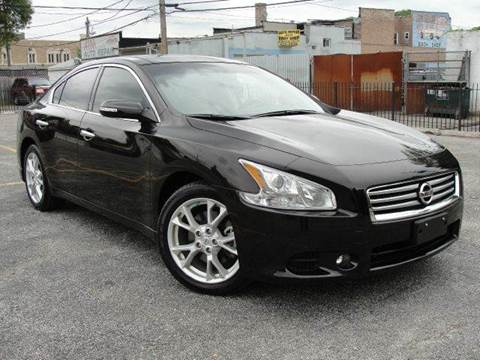 2014 Nissan Maxima for sale at OUTBACK AUTO SALES INC in Chicago IL