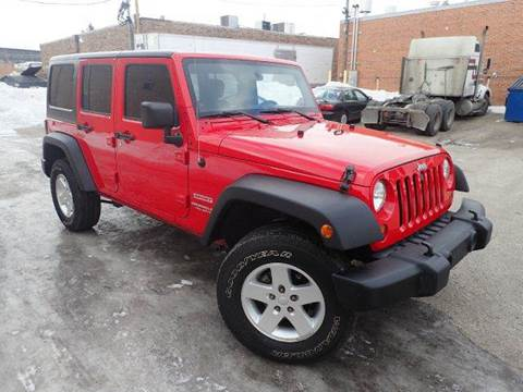 2011 Jeep Wrangler Unlimited for sale at OUTBACK AUTO SALES INC in Chicago IL
