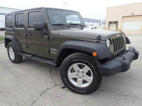 2015 Jeep Wrangler Unlimited for sale at OUTBACK AUTO SALES INC in Chicago IL