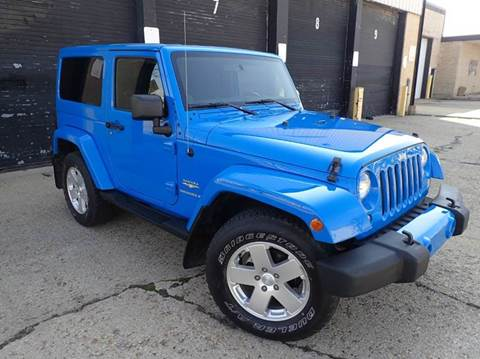 2011 Jeep Wrangler for sale at OUTBACK AUTO SALES INC in Chicago IL