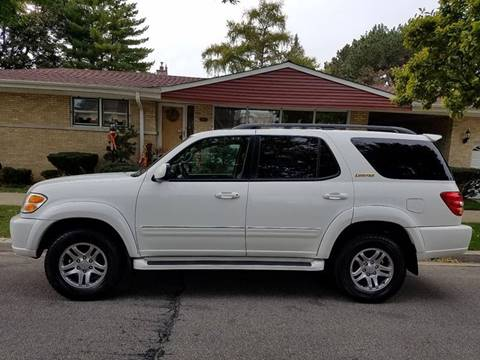 2003 Toyota Sequoia for sale at OUTBACK AUTO SALES INC in Chicago IL