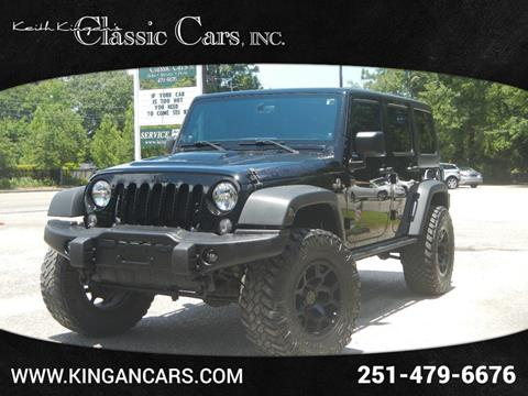 2013 Jeep Wrangler Unlimited for sale in Mobile, AL