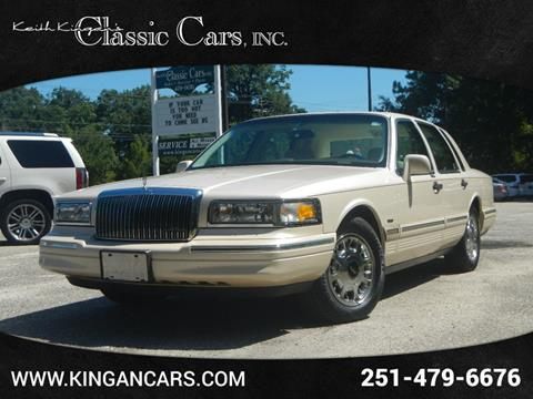 Used Tires Mobile Al >> Used 1997 Lincoln Town Car For Sale - Carsforsale.com®