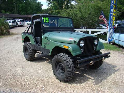 1973 Jeep CJ-5 for sale in Lacombe, LA