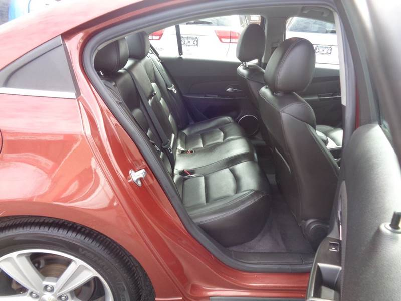2012 Chevrolet Cruze LT 4dr Sedan w/2LT - Irvington NJ