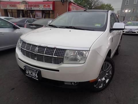 2009 Lincoln MKX for sale in Irvington, NJ