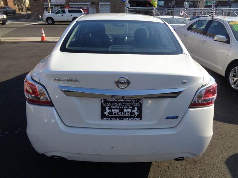 2014 Nissan Altima 2.5 S 4dr Sedan - Irvington NJ