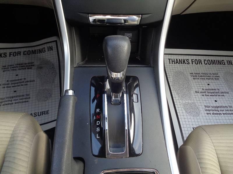 2014 Honda Accord LX 4dr Sedan CVT - Irvington NJ