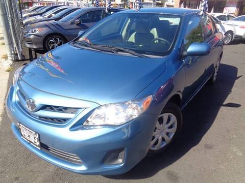 2013 Toyota Corolla for sale at Foreign Auto Imports in Irvington NJ
