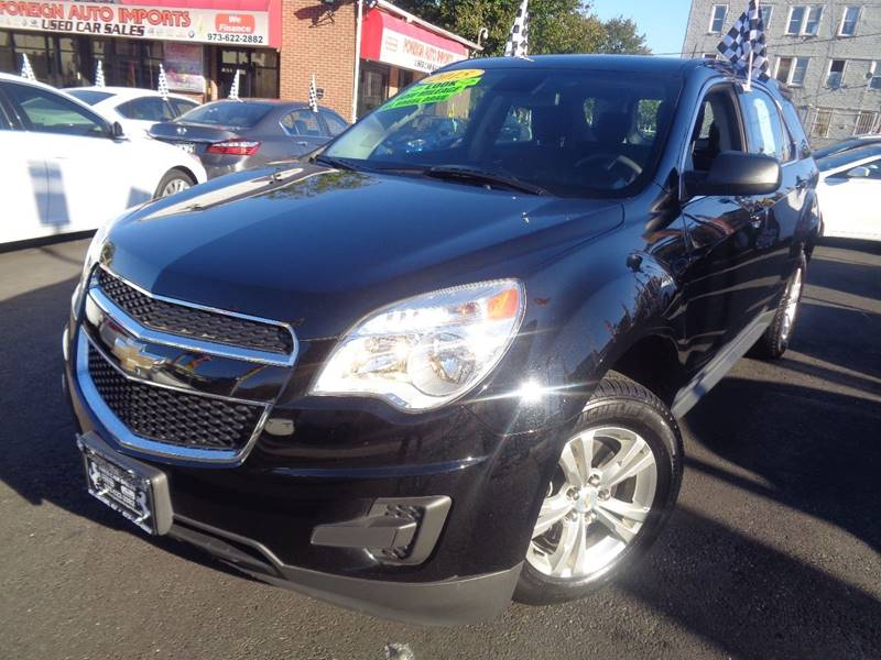 2015 Chevrolet Equinox for sale at Foreign Auto Imports in Irvington NJ