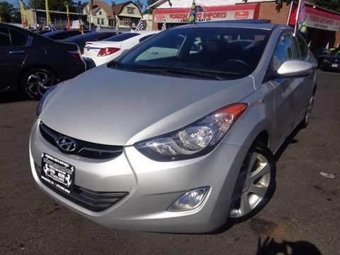 2013 Hyundai Elantra for sale at Foreign Auto Imports in Irvington NJ