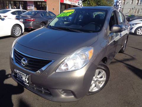 2014 Nissan Versa for sale at Foreign Auto Imports in Irvington NJ