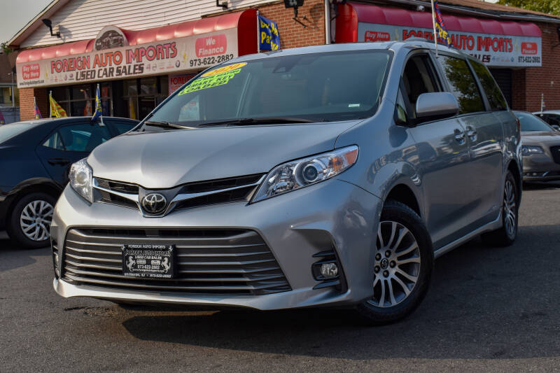 2020 Toyota Sienna for sale at Foreign Auto Imports in Irvington NJ