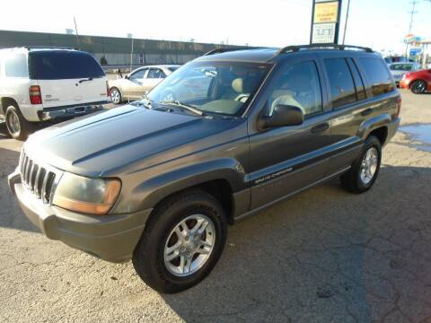 2002 Jeep Grand Cherokee Laredo for sale at H & R AUTO SALES in Conway AR