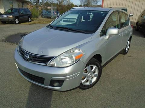 2012 Nissan Versa 1.8 SL for sale at H & R AUTO SALES in Conway AR