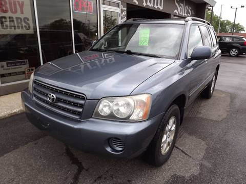 2003 Toyota Highlander for sale in Eastlake, OH
