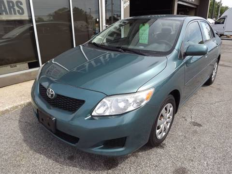 2009 Toyota Corolla for sale at Arko Auto Sales in Eastlake OH