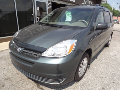 2005 Toyota Sienna for sale at Arko Auto Sales in Eastlake OH