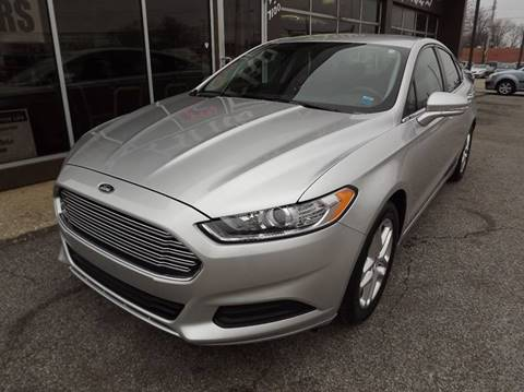 2013 Ford Fusion for sale at Arko Auto Sales in Eastlake OH