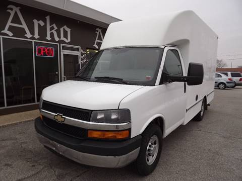 2014 Chevrolet Express Cutaway for sale at Arko Auto Sales in Eastlake OH